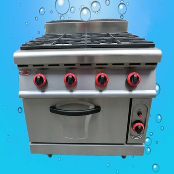 Commercial display stainless steel portable table gas range cooker sale