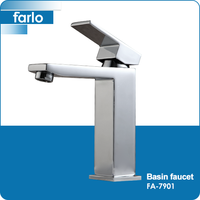 FARLO High end wall type free sample orb bathroom faucet