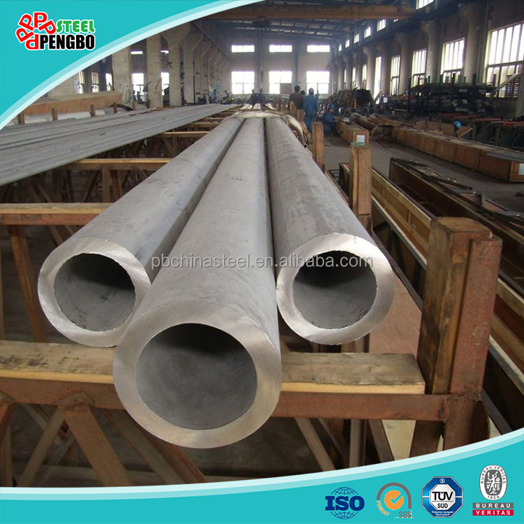 Seamless Stainless Steel Pipe for Oil Gas Tube in stock