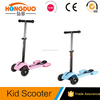 2017 new arrival 120mm PU tires maxi kick scooter for sale