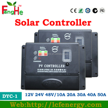 MPPT charge technology series smart solar controller 10A 12V/24V