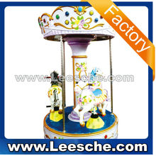 kids coin operated arcade game Amusement Rides amusement park kids ride used carousel horse for sale