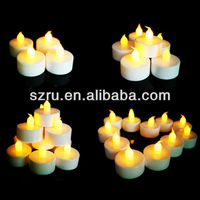 Buy Romania Market Rechargeable LED Tea Light Candles in China on ...