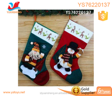 Best selling toys 2017 christmas wholesale decorating gift stockings socks