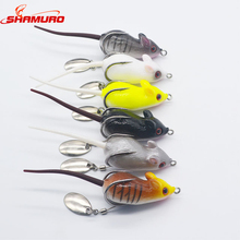 5.5cm 10g Cheap Fishing Tackle All Lure Glow Wholesale Swimming Float Frog Mouse Lures