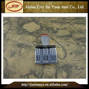 China supplier standard day month and year unit date stamp
