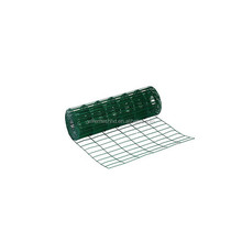 Factory price green PVC Plastic coated welded wire mesh