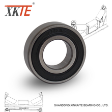 best sales XKTE brand rubber sealed conveyor idler bearings 6204 2RS/C4 from shandong bearing manufacture