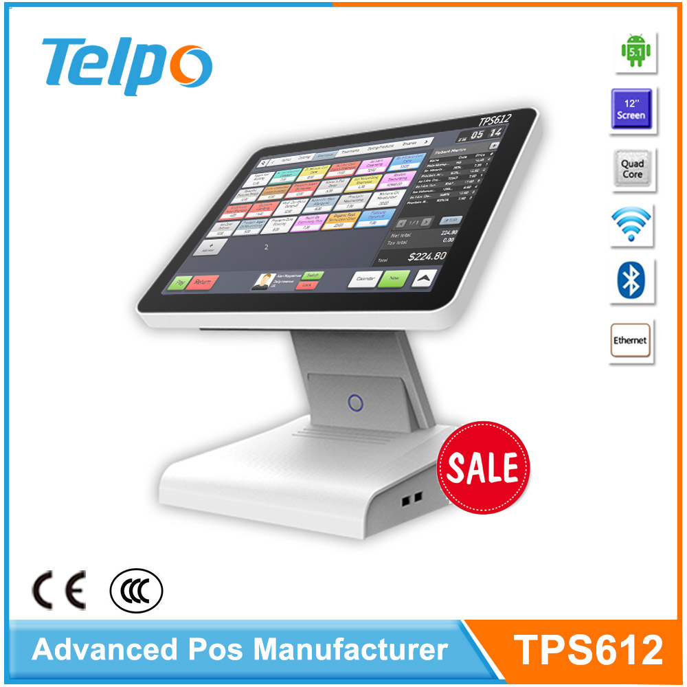 Original Manufacturer Touch Screen Android Touch Screen Pos With Integrated Printer