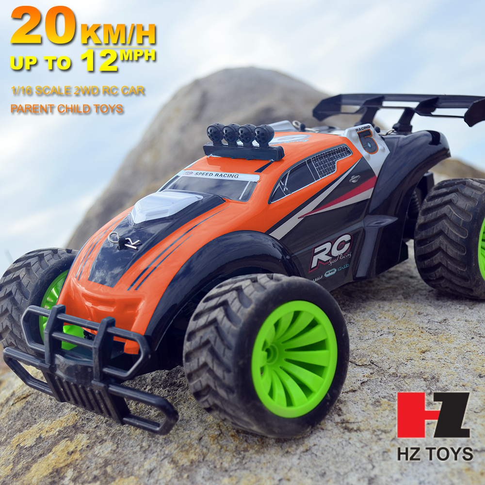 Wholesale 1:16 big foot nitro engine rc car 4wd monster truck With Brush Motor
