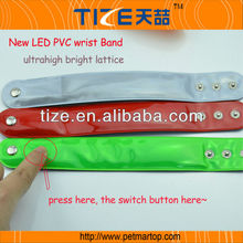 TZ-W200 New for promotion gift LED PVC wrist band