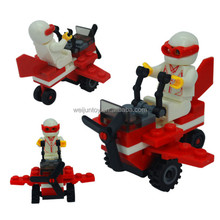 Wholesale Building Blocks Sets Minifigure ,plastic educational toys for 2016
