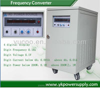 Customzie 3 phases input or single phase input/output 115v 400hz power supply