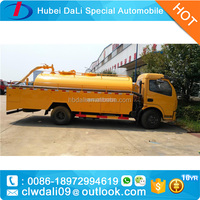 new design waste water clean truck vacuum suction truck