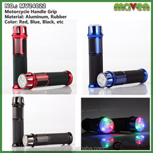 Color Led Lamp Aluminum Scooter Handle Grips Handgrip Cover For Benelli BMW Racing MV24022