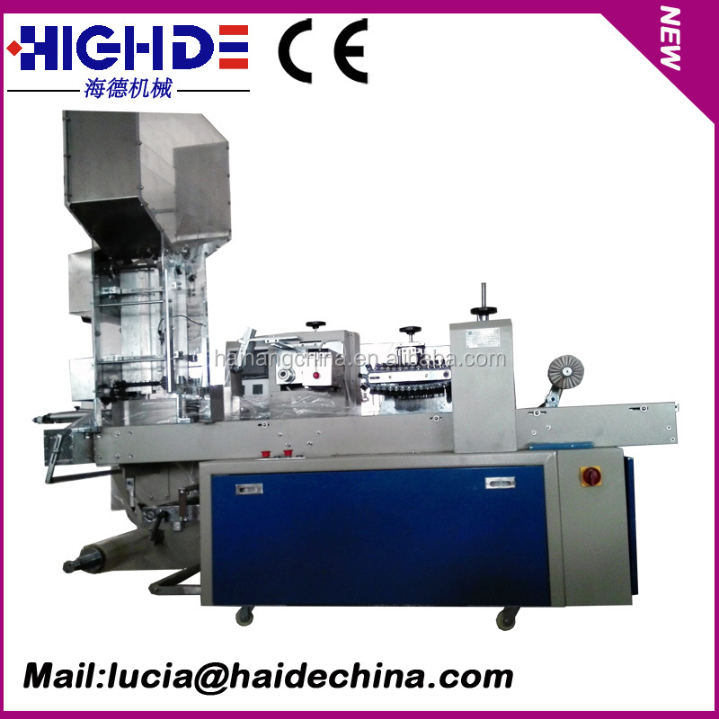 Plastic Straw Packing Machinery with printing and sealing