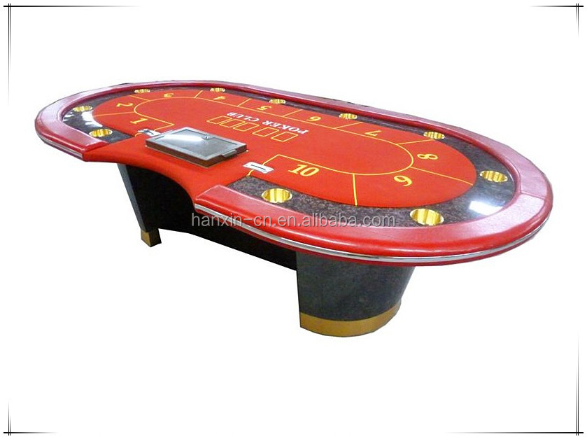 2016 hotsale luxury texas holdem poker table buy 10 for 10 person poker table top