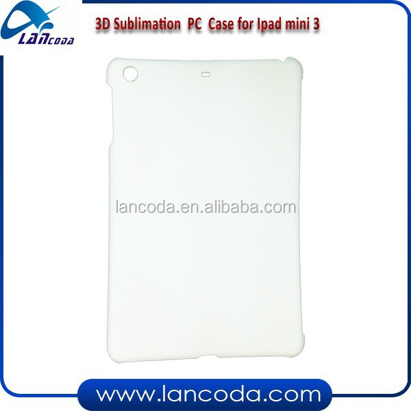 2015 DIY sublimation mobile case for Ipad mini 1/2/3,new sublimation tablet cover,3d vacuum sublimation phone case