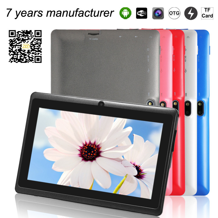 alibaba express android tablet pc manufacturer Q88 A33 quad core electronics 7 inch 2014 hottest mid