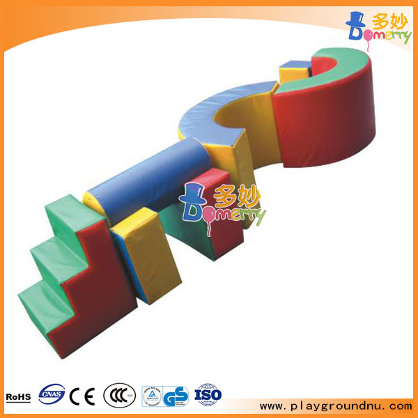 Most Attractive Indoor Walking Tunnel Size Soft Play for Children Items kiddie soft floor climbing items