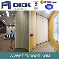 Durable and functional sound rated accordion folding door for sale