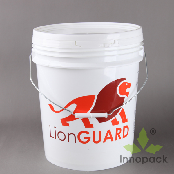 customized color for 5 gallon round plastic drum with tight lids