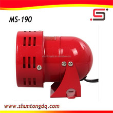 100w red portable electronic mini motor siren/ hooter speaker ms-190