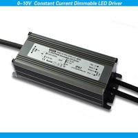 40W 0-10V led dimmer controller 700ma waterproof pwm dimmable led driver power supply 80v CE RoHS approval