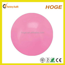 16 inch Inflatable solid color PVC glow beach balls