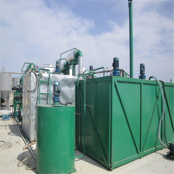 China ZSA waste motor oil Regeneration recycling distillation refinery to get hydraulic oil