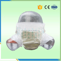 Size L Disposable Soft Lovely Adult Wetting Diaper For Old Women