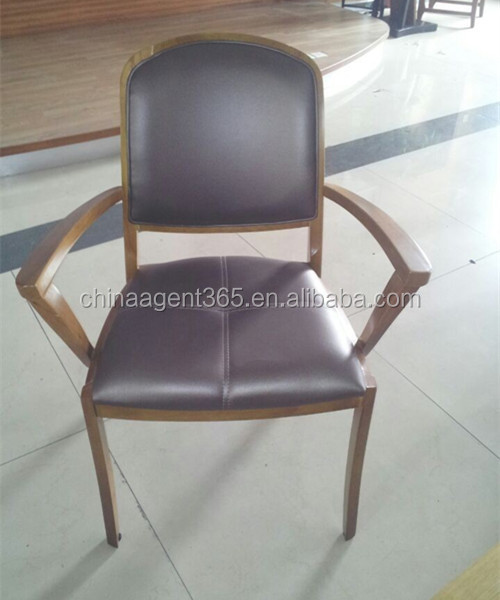 Modern small dining chair used restaurant wooden chair pictures