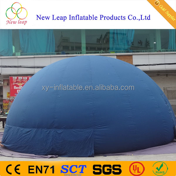 Customize inflatable planetarium tent, inflatable dome/igloo tent for sale
