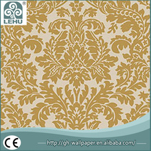 China supplier high quality interior 3d wallpaper , modern design wallpaper , design wallpaper bedroom