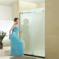 Best price for half glass shower doors