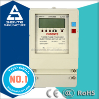 DTFS 7666 Three-phase four wire electronic digital multifunction power consumption meter