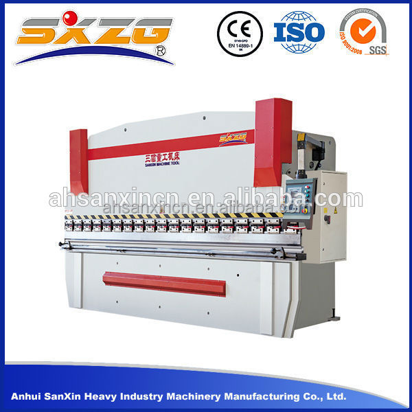 WC67K Hydraulic Folding Machine, Hydraulic Flat Bar Bending Machine Price