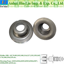 SPHC Conveyor Roller Bearing TK6205 Bearing 159 Pipe Housing