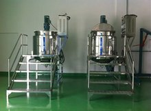 Guangzhou Dish Washing Lotion/Hand Wash Soap Making Machine Blending Tank