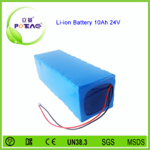 li ion 18650 24v 10ah electric bicycle battery set