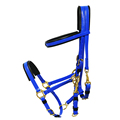 High quality copper fittings blue horse halters
