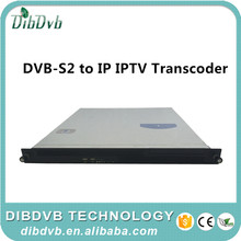 integrated receiver transcoder dvb-s to iptv gateway transcoder for complete Internet OTT/android iptv Solution