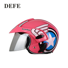 Fancy half face kids motorcycle helmets
