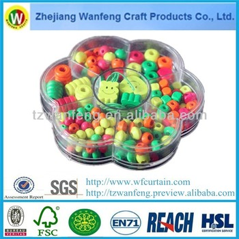 China supplier wholesale wooden beads for jewelry