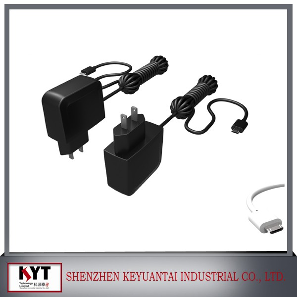 12V 0.5A/1A ac/dc power adapter, CCTV camera, LED dc power supply with CE FCC ROHS KC