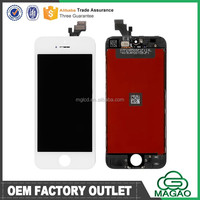 100% original brand for iphone 5 lcd digitizer screen assembly complete original
