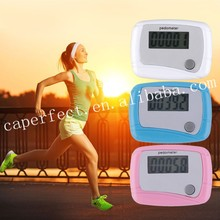 Digital LCD Screen Pedometer Walking Step Distance calorie Counter With One Button