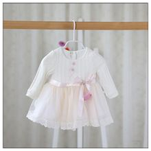 Hot Fashion Baby Sweater Tulle Dress For Girl