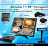Low price touch screen all in one pos pc