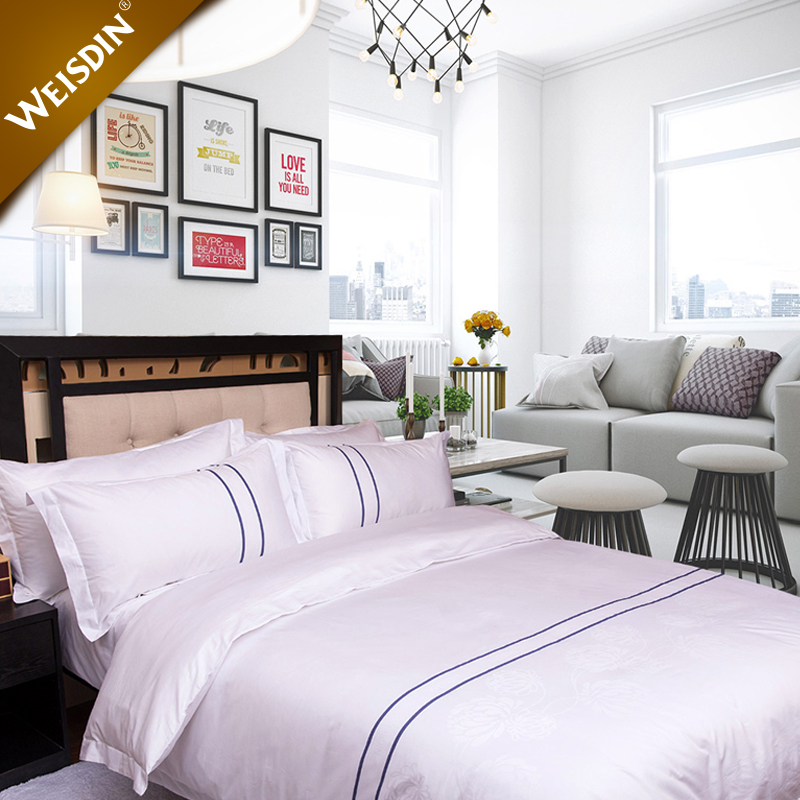 China suppliers new products home textile bed set king size 60S 300TC luxury hotel cotton bedding
